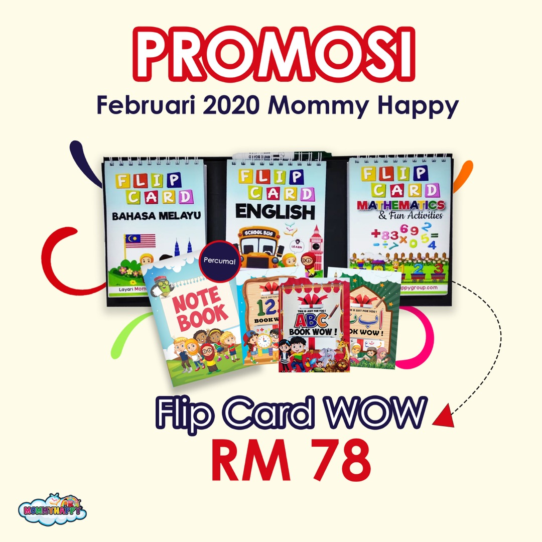 FLC03-FLIPCARD WOW WITH MARKER