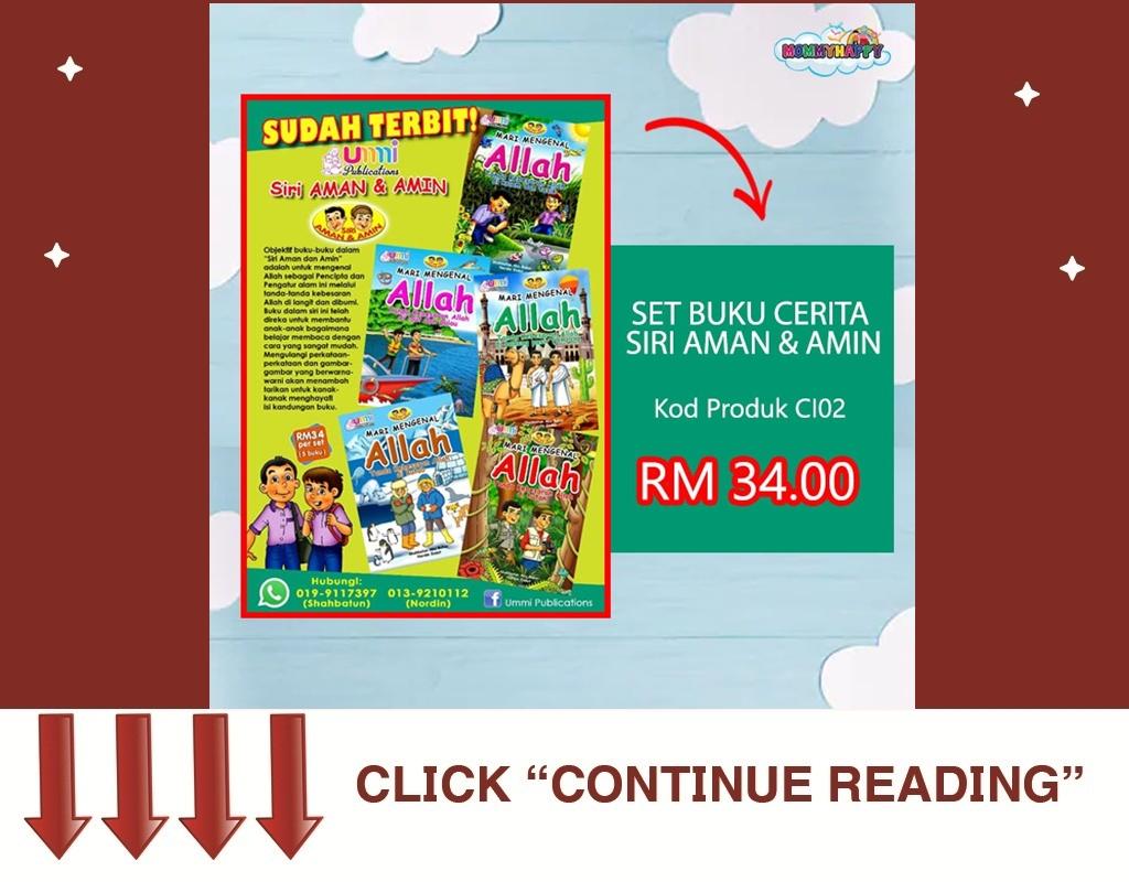Set Buku Cerita Siri Aman&Amin