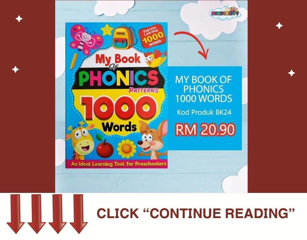BK24- MY BOOK OF PHONICS 1000 WORDS