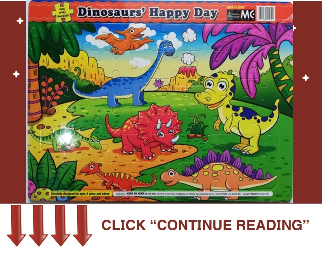 ET04- FUN WITH PUZZLES- DINOSAURS' HAPPY DAY