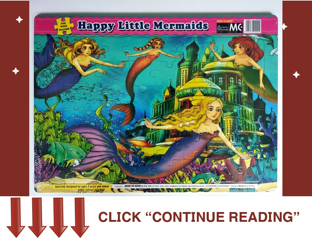 ET02- FUN WITH PUZZLES-HAPPY LITTLE MERMAIDS