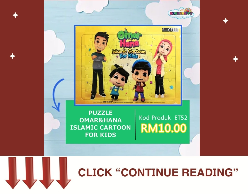 Puzzle Omar Hana Islamic Cartoon For Kids