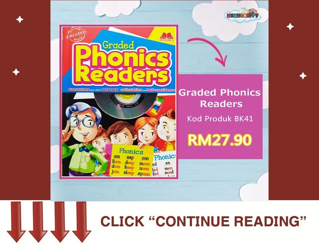 BK06- GRADED PHONICS READERS