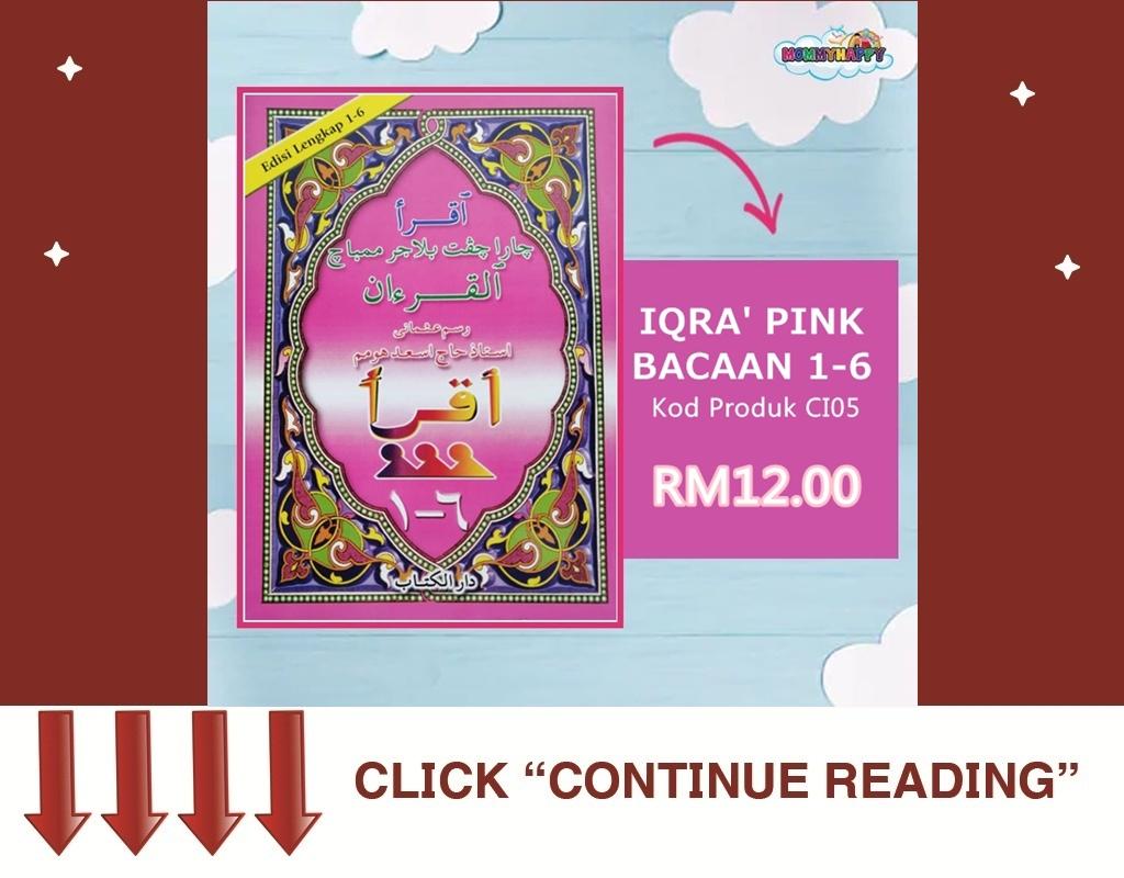 IQRA' PINK BACAAN 1-6