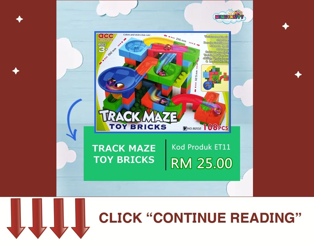 ET11- TRACK MAZE TOY BRICKS
