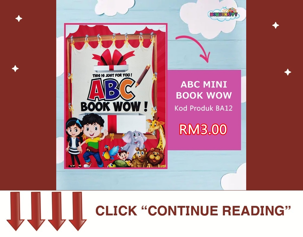 MB01- MINI ABC BOOK WOW