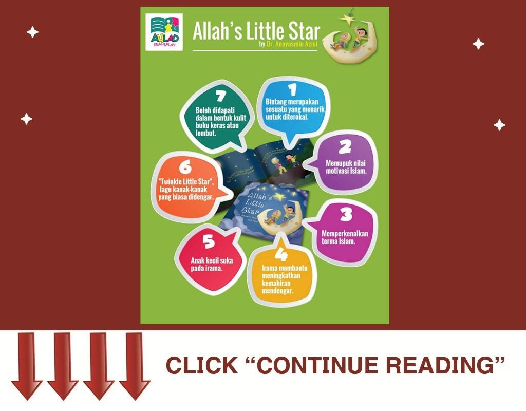 BK46- ALLAH'S LITTLE STAR (HARDCOVER)