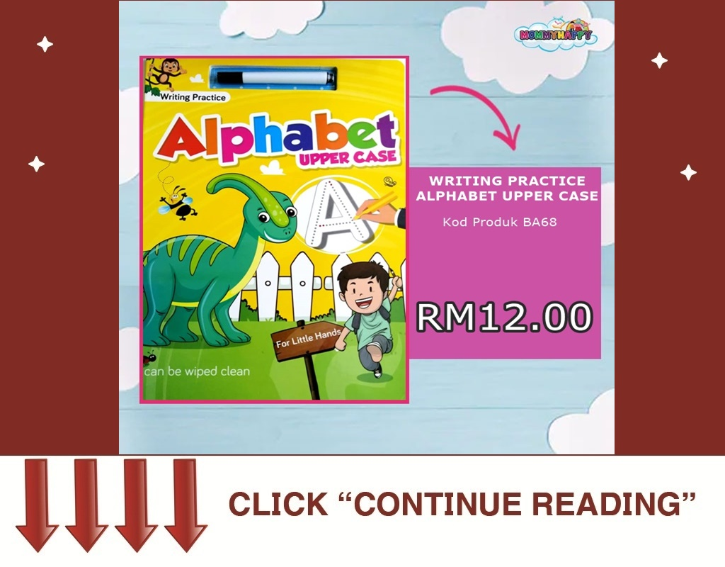 BA63- ALPHABET UPPER CASE WRITING PRACTICE