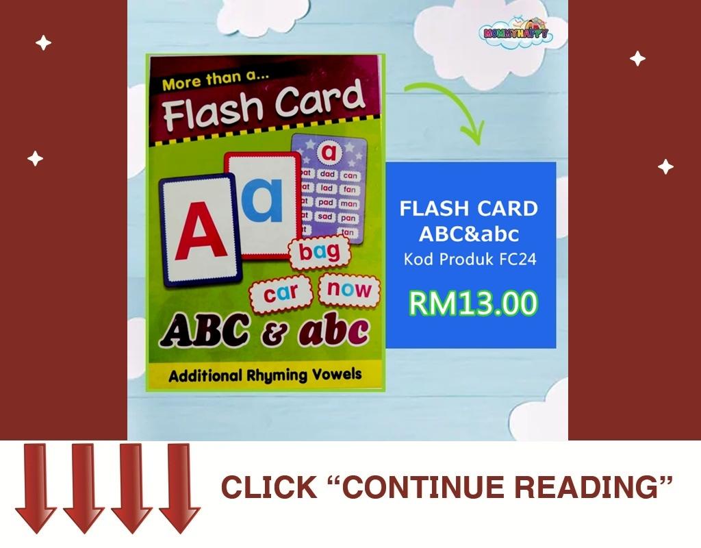 FC24-FLASH CARD ABC&abc