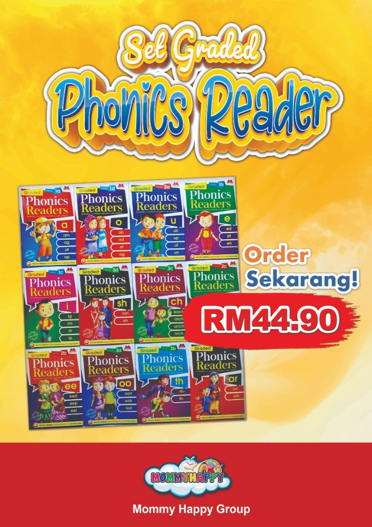 BK75- SET GRADED PHONICS READER