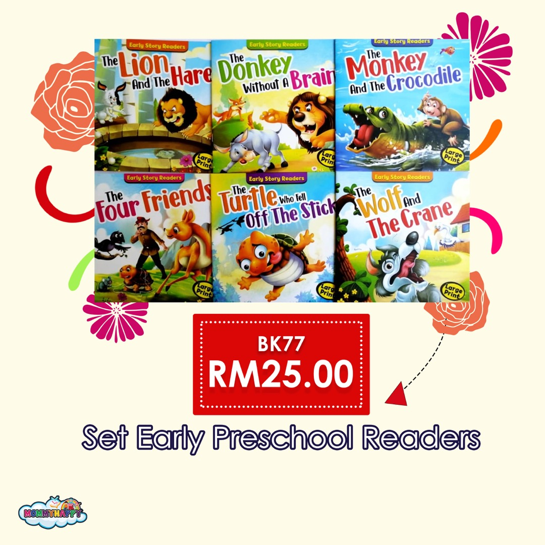 BK77- SET EARLY PRESCHOOL READERS