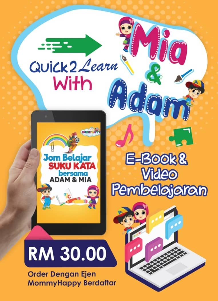 ON01- E-BOOK QUICK2LEARN WITH MIA & ADAM