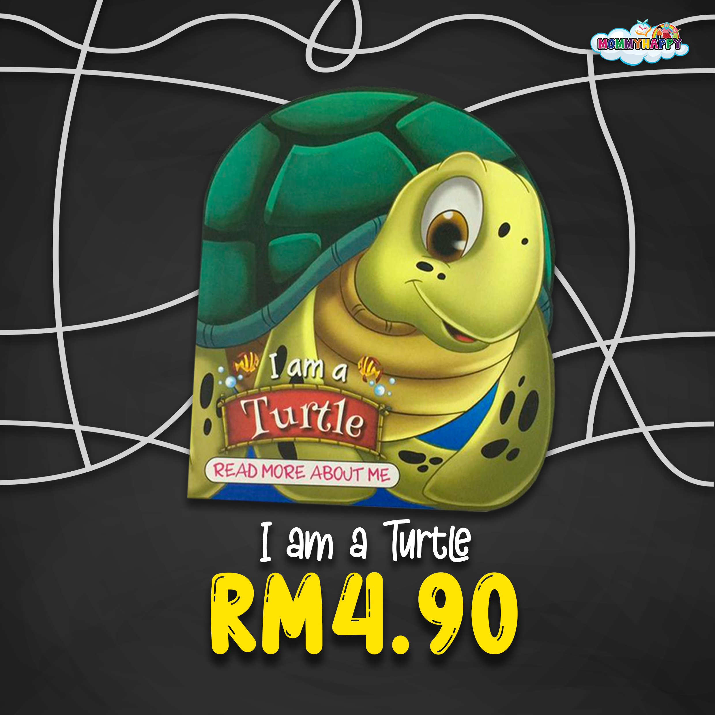 BE02- English Story Book – I am a turtle