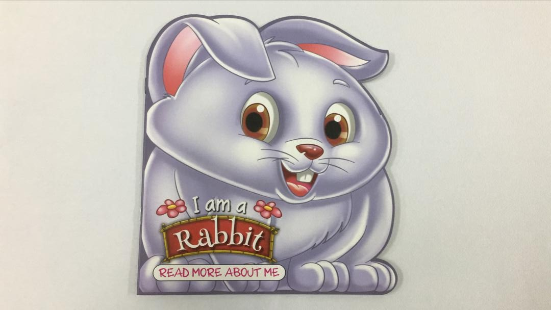 BE12- English Story Book – I am a rabbit