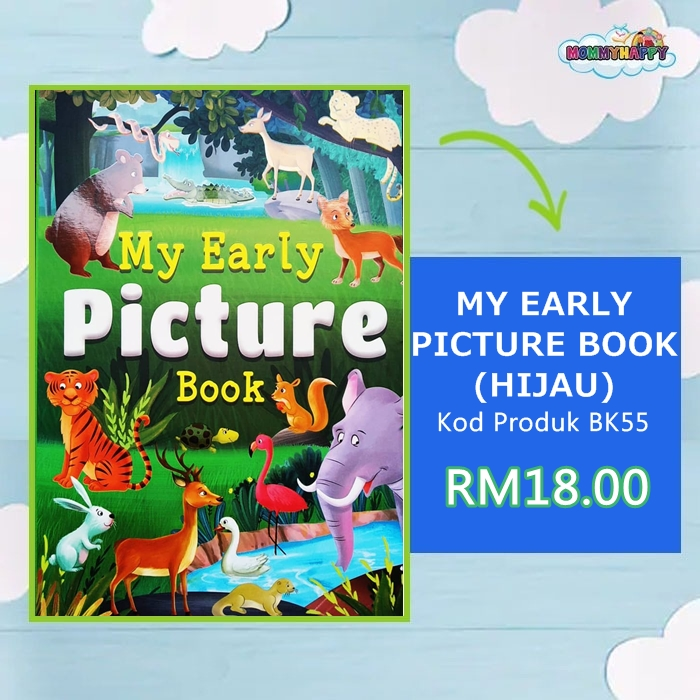 BK55 MY EARLY PICTURE BOOK (HIJAU)