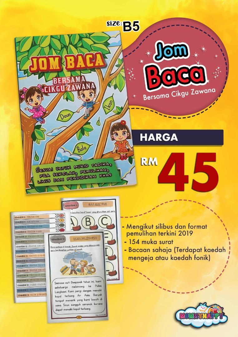 BK85-Buku Jom Baca Oleh Cikgu Zawana