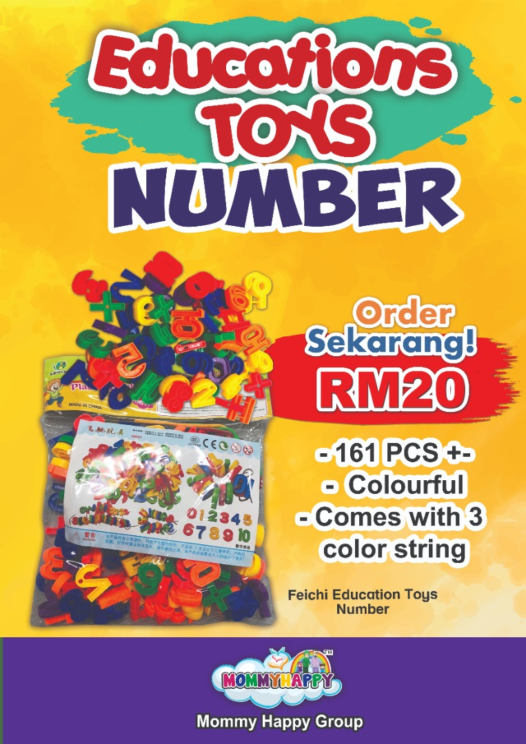 MAYET04-Numbers Block Toys