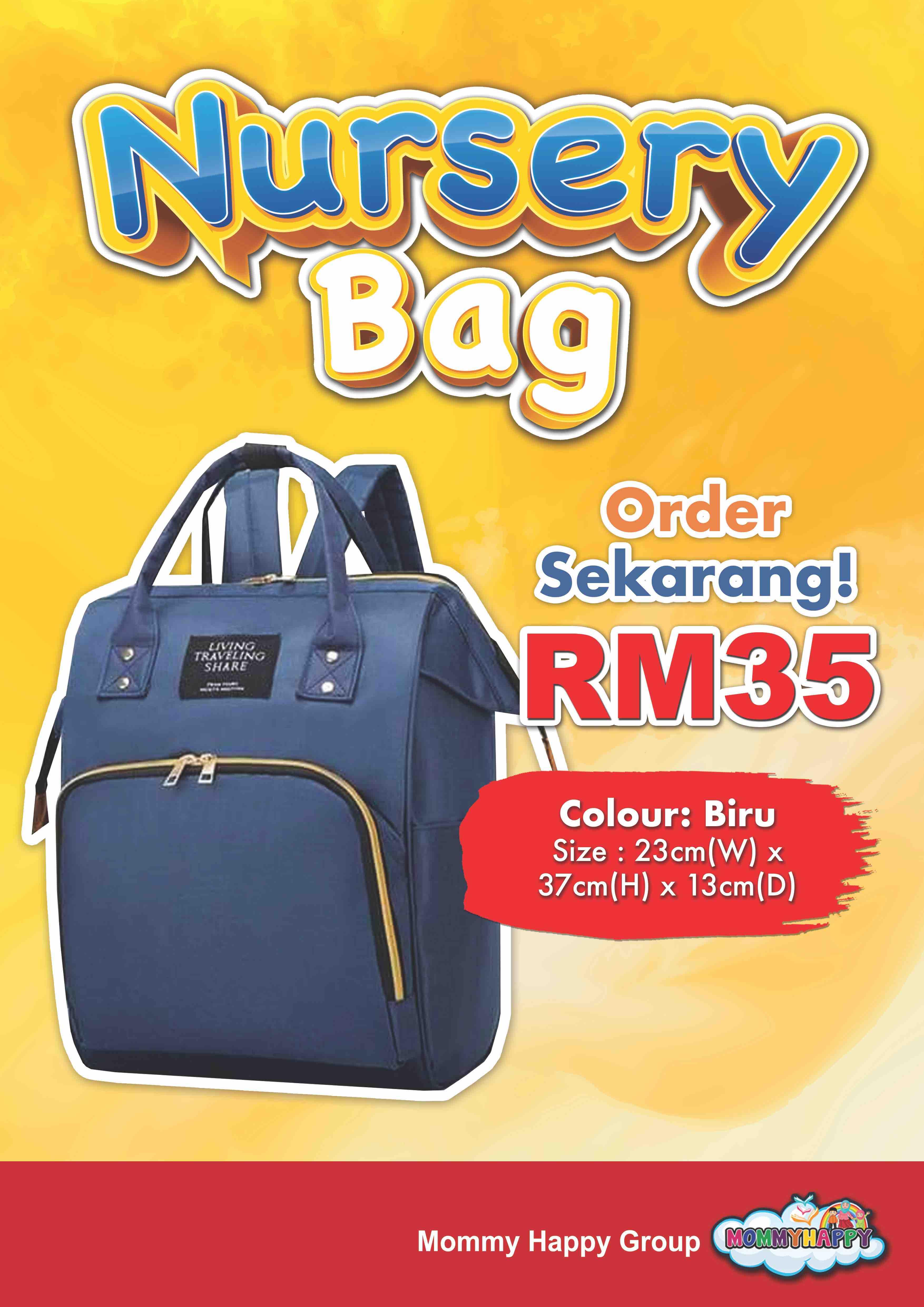 BAG03-NURSERY BAG – BIRU