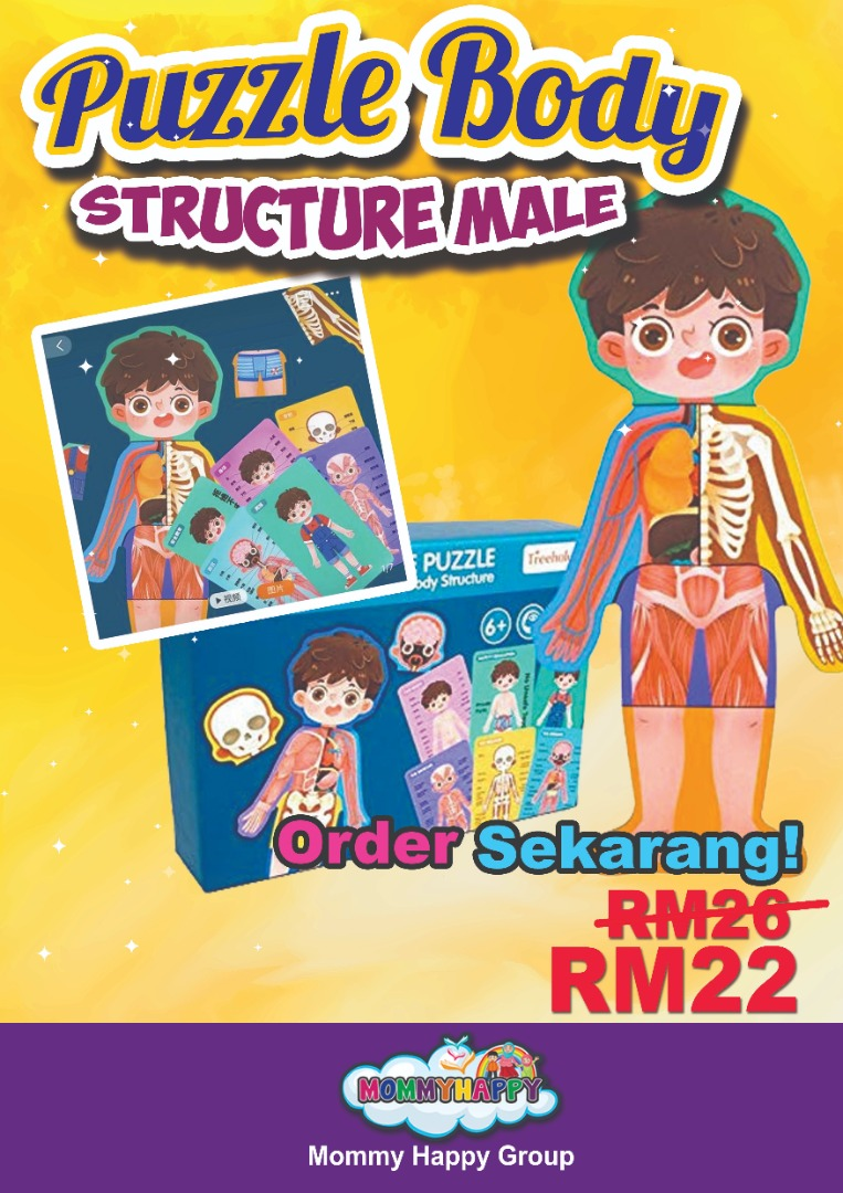 Pro-Haji-09- Body Structure Puzzle Male