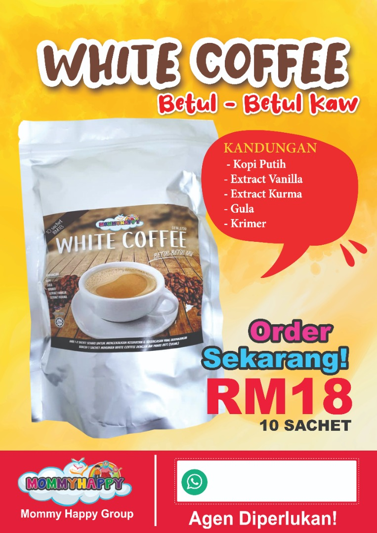 FMH05 – KOPI WHITE COFFEE KAW