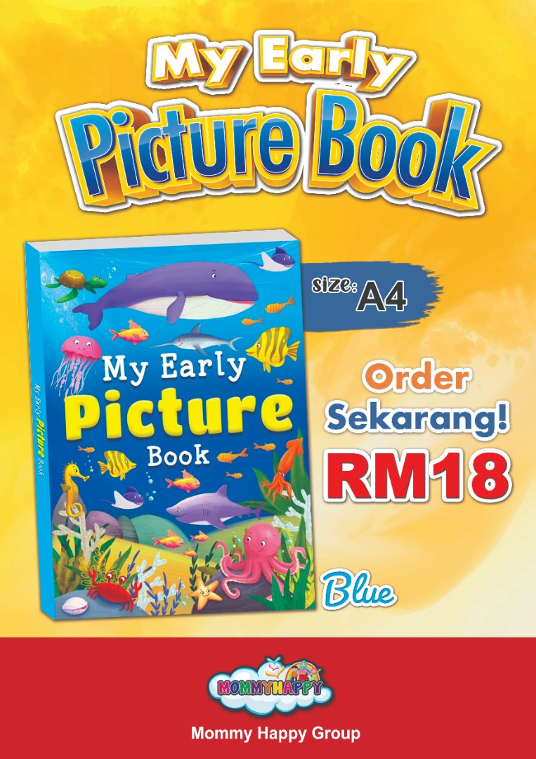MAYBK04-MY EARLY PICTURE BOOK (BLUE)