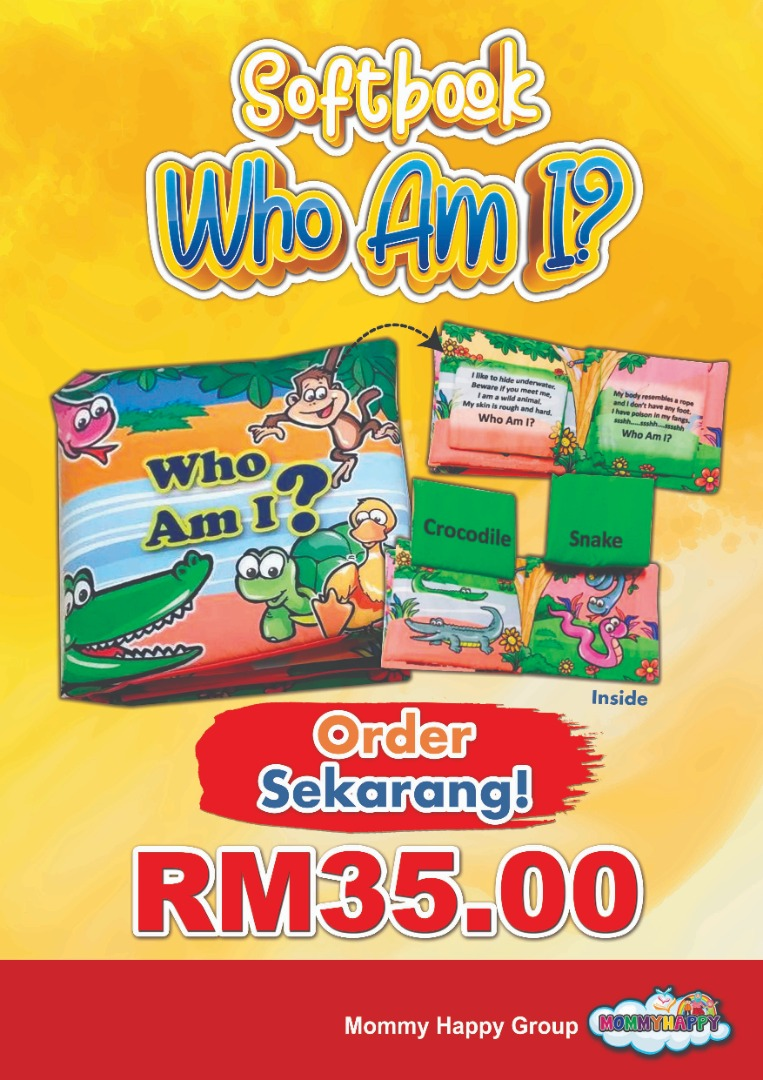 "SB09-SOFTBOOK ""WHO AM I?"""