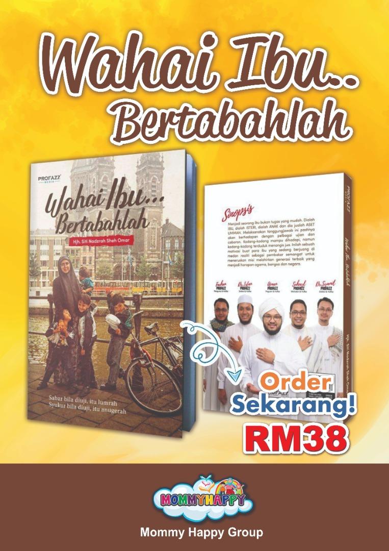 BK113- Buku Wahai Ibu.. BERTABAHLAH