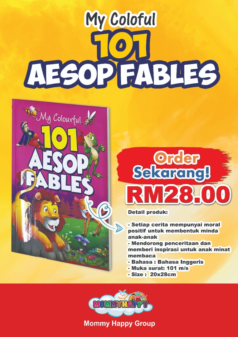 BK118-COLOURFUL 101 AESOP FABLE