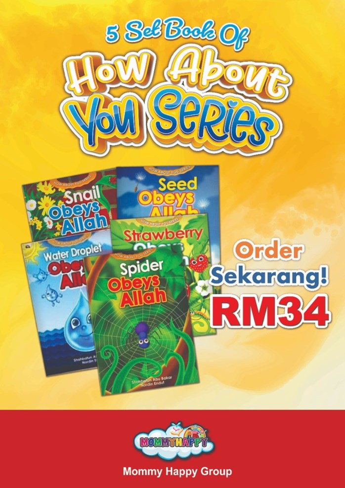 CI04-SET BUKU CERITA HOW ABOUT YOU SERIES