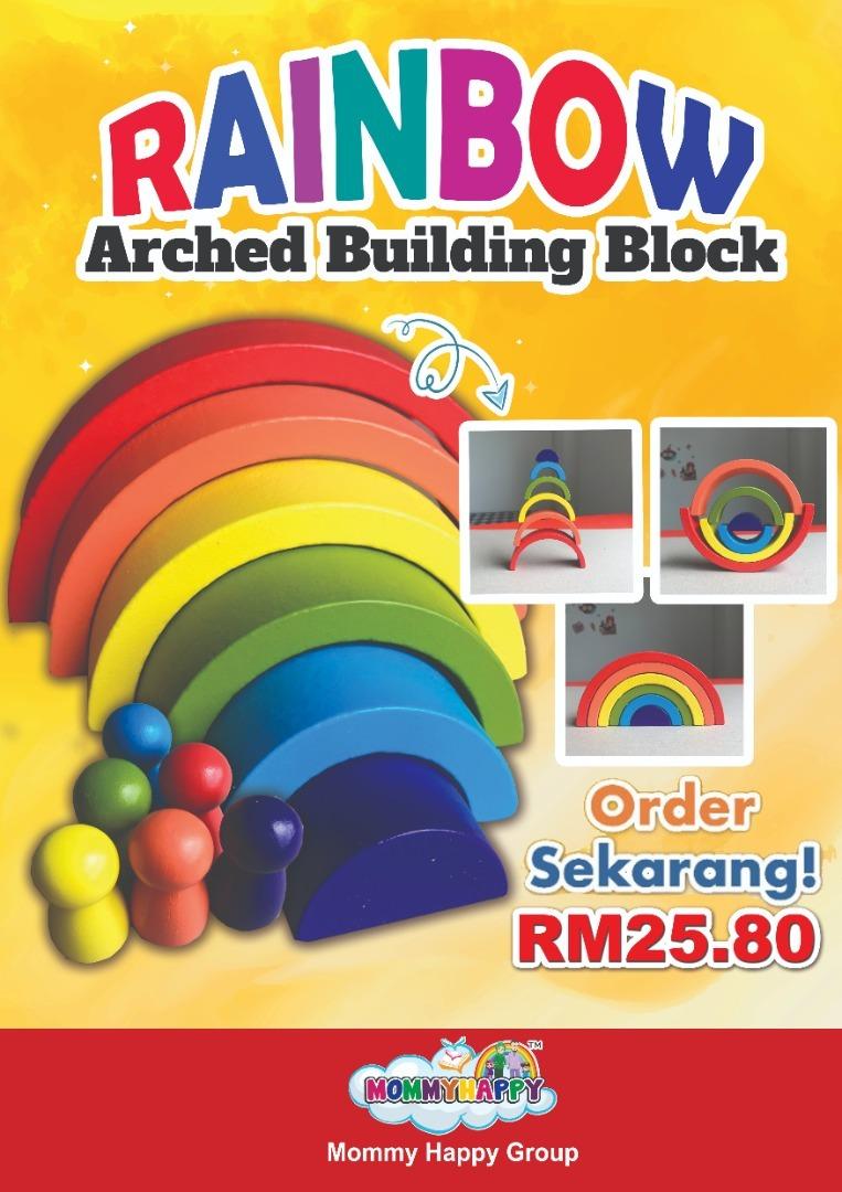 DEC-ET-01 RAINBOW ARCHED BUILDING BLOCK