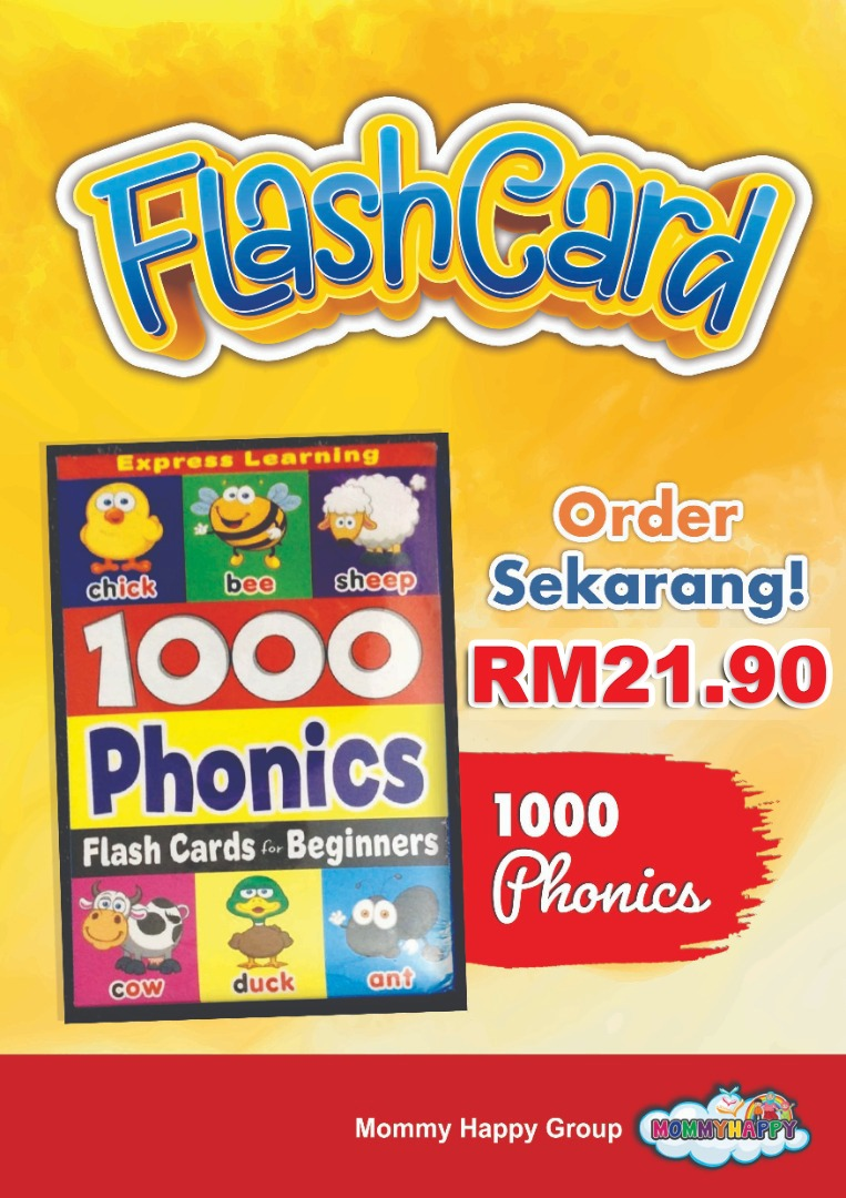 FC28-FLASH CARD BEGINNER 1000 PHONICS