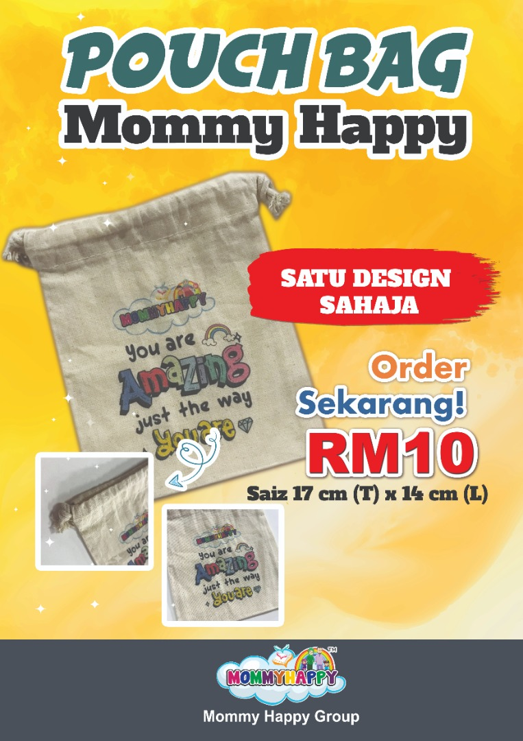 GDBAG-POUCH BAG MOMMY HAPPY