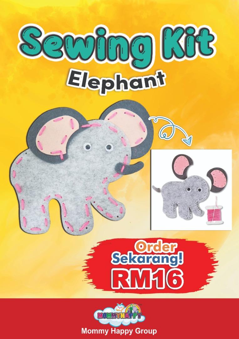 SEWING KIT (ELEPHANT)