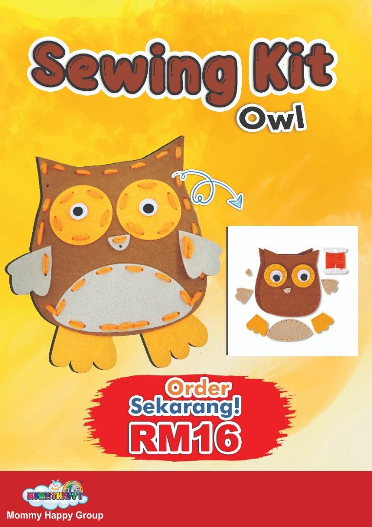 SEWING KIT (Owl)